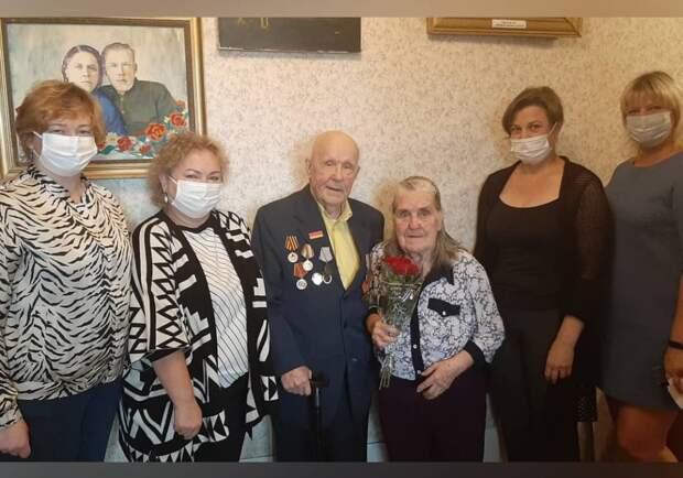 Ветеран из Северного получил поздравление с 95-летием от президента РФ