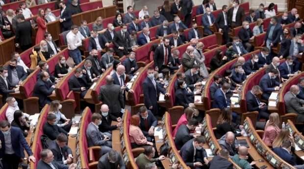 В Раде произошла потасовка между Порошенко и соратником Зеленского