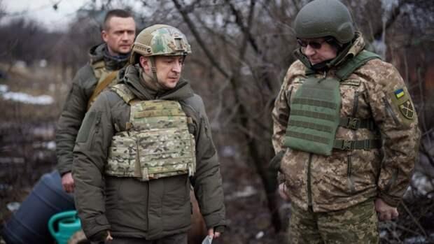 В Сети обвинили Зеленского в лицемерии после визита на передовую Донбасса