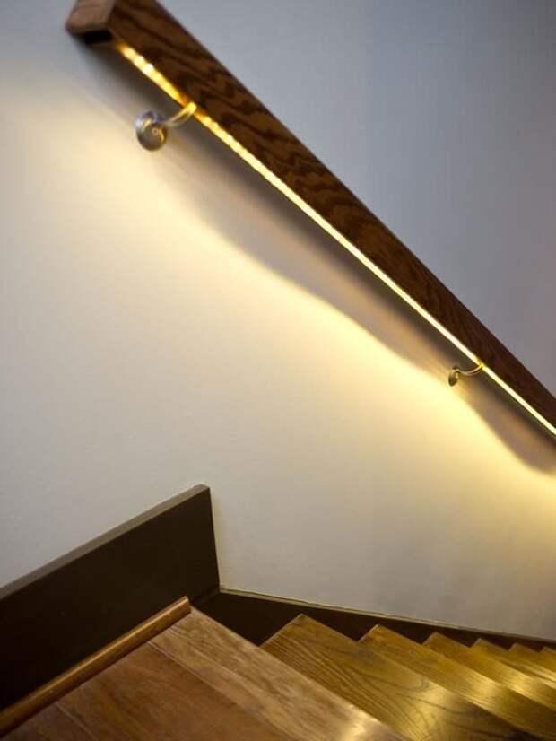 Необычные варианты размещения LED полосы в интерьере