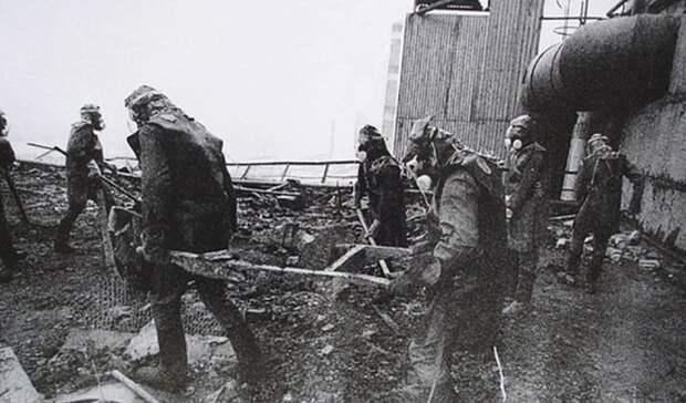 С лопатой против радиации: 26 апреля 1986 года взорвалась Чернобыльская АЭС
