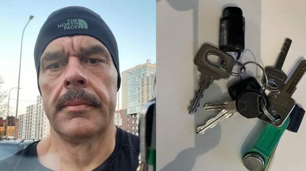 Владимир Любарский завел страничку «В Контакте» и нашел ключи, но не от города