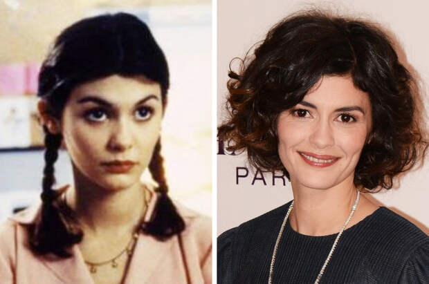 Как изменились 25французских актеров современ своих первых ролей
