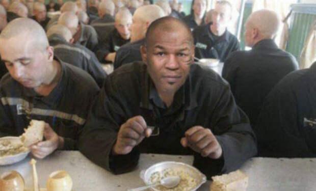 Кто в тюрьме начинает есть первым