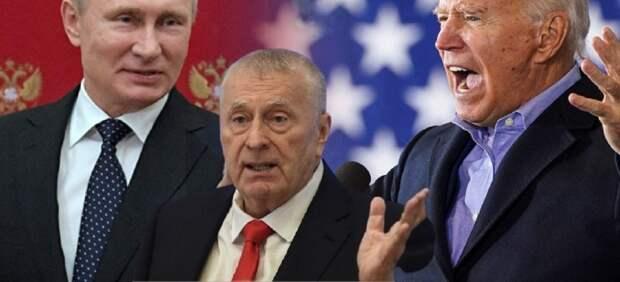 """Жириновский объяснил желание Байдена встретиться с Путиным: """"иначе, ему конец"""""""