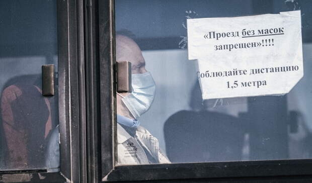 Шестерых водителей автобусов вБелгороде поймали без масок