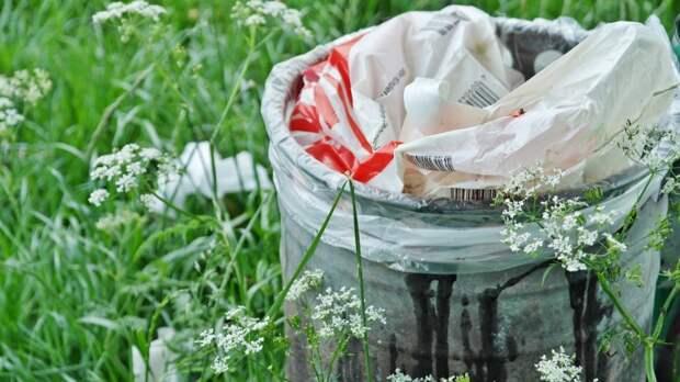 За мусор на территории природоохранной зоны в Левобережном виновные заплатят штраф