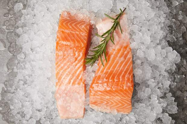 холодная закуска из рыбы с гарниром