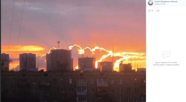 Фото дня: мартовский рассвет