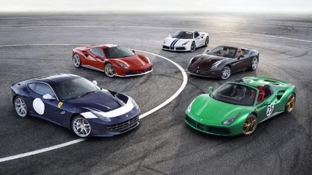 История в нарядах: Ferrari анонсировала 350 юбилейных моделей