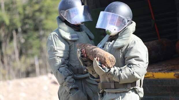 Российские саперы обезвредили более 25 тысяч боеприпасов в Нагорном Карабахе