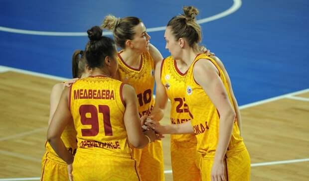 Оренбургская «Надежда» продлила контракты с пятью баскетболистками