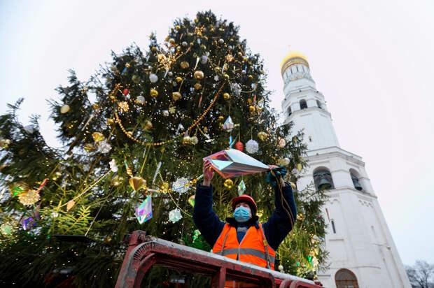 Из главной кремлевской елки сделают часы