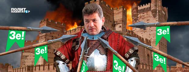 Запорожского негодяя Буряка перемололи негодяи «слуги народа»