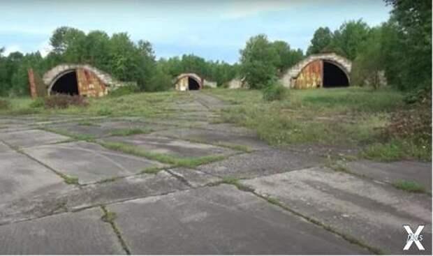 Заброшенный аэродром на Сахалине
