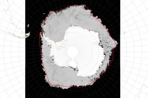 Пару слов о глобальном потеплении: Рекордная площадь ледяного покрова в Антарктиде