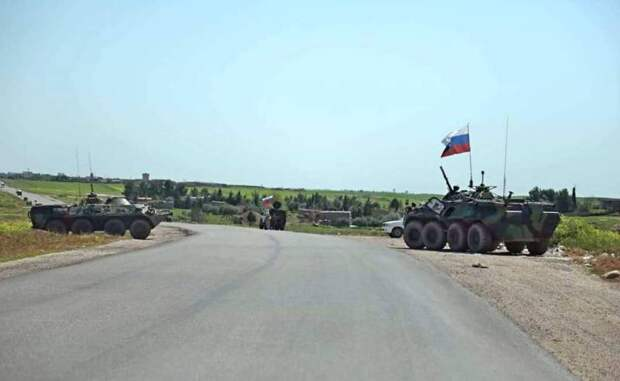 Перекрытие дорог: русские войска взяли на вооружение тактику американцев в Сирии