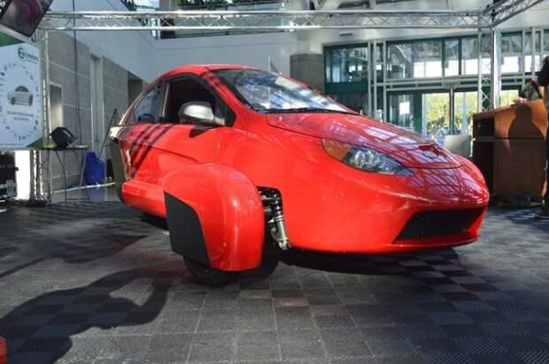 Elio Motors презентовала трехколесный прототип P5 на лос-анджелесском автошоу