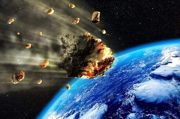 Земля в древности подверглась мощной бомбардировке из космоса