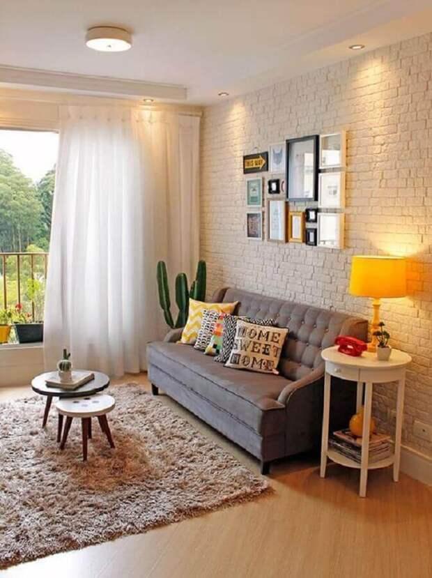 Белый кирпич: 20+ великолепных идей декорирования для вдохновения