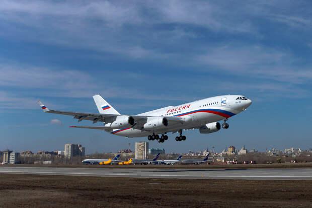 Построен новый самолет Ил-96-300