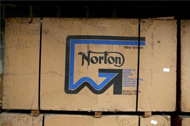 Вот в такой упаковке Norton поставлялись в 70-х годах