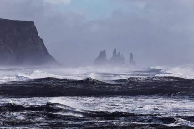 берег Исландии