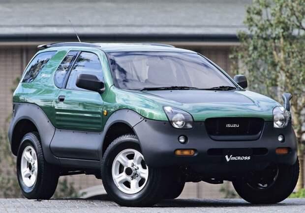 Isuzu VehiCROSS авто, автодизайн, внедорожник, вседорожник, джип, дизайн, япония, японский автопром