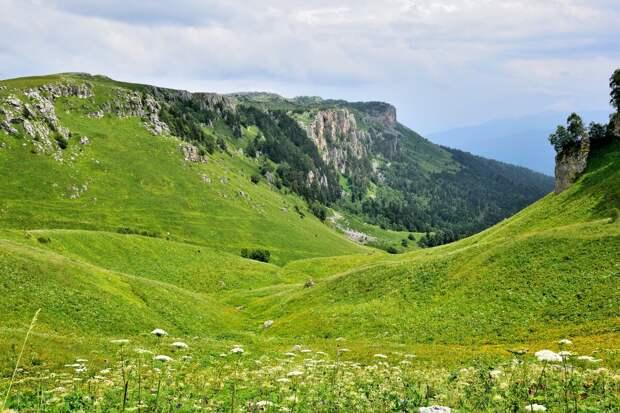 К перевалу Узуруб