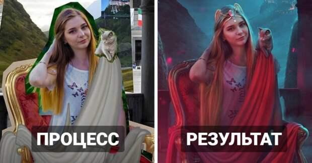 Работы сурового российского фотошоп-мастера точно поразят ваше воображение