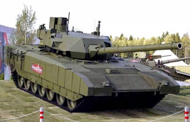 Т-14 «Армата» стал самым крупным современным танком в мире