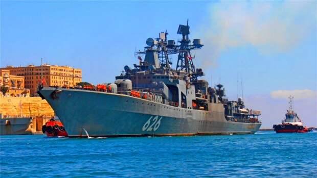 США обеспокоены заходами кораблей ВМФ России на Кипр