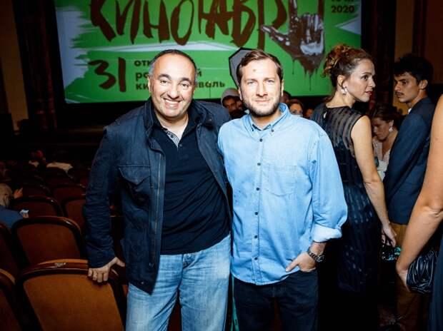 Александр Роднянский и Резо Гигинеишвили