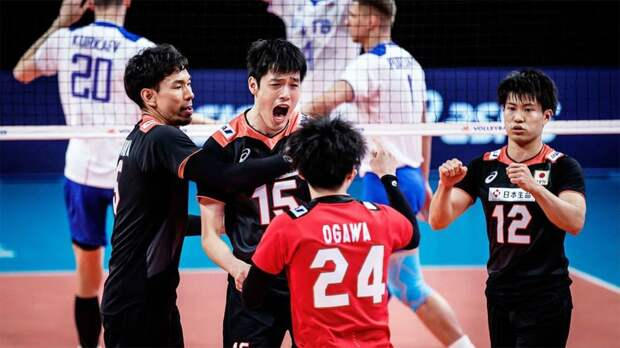 Россия сенсационно проиграла Японии в Лиге наций. Это лишь 3-е поражение от азиатской сборной за всю историю