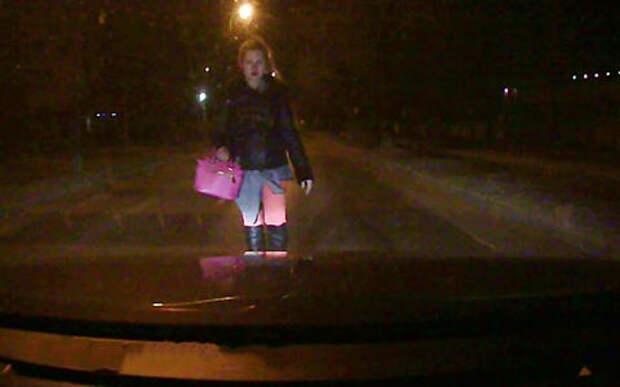 Кошмар на дороге в 4 утра. Берегитесь незнакомки!