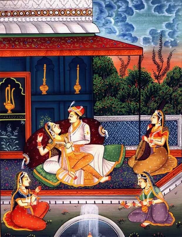 Фото №2 - Необычные секс-традиции Древней Индии