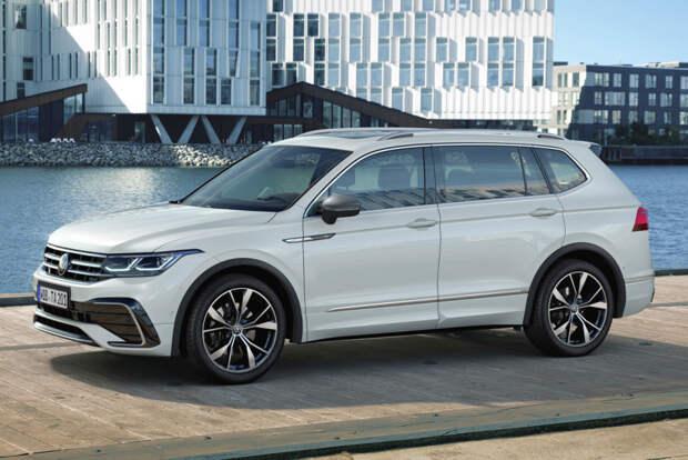 Volkswagen Tiguan Allspace обновлен вместе с американской моделью