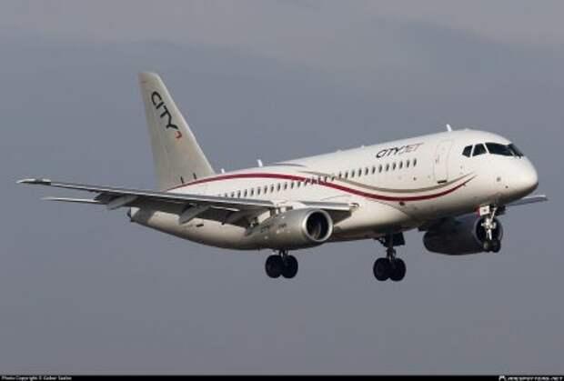 Sukhoi Superjet 100-95B Cityjet