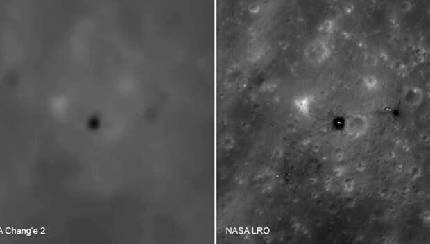Впервые опубликованы китайские фотоснимки мест посадок «Аполлонов» на Луне