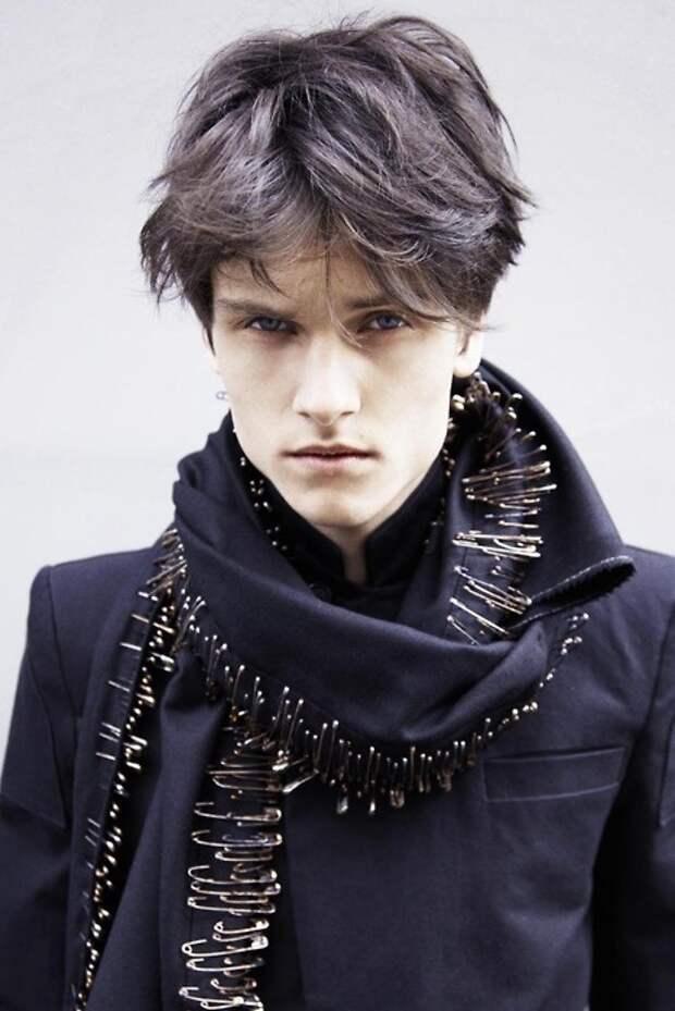 Булавчатый шарф