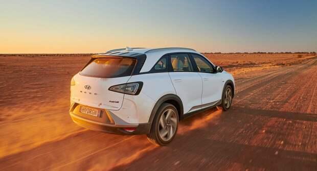 Hyundai Nexo преодолел 887,5 километров на одном баке с водородом для нового мирового рекорда