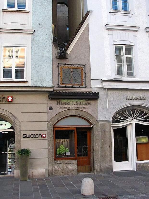004 zalsburg Самые маленькие дома в мире