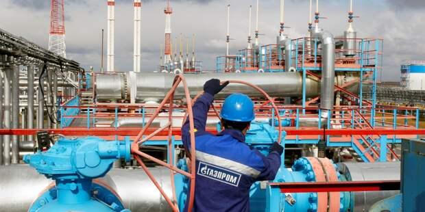 «Газпром» качает