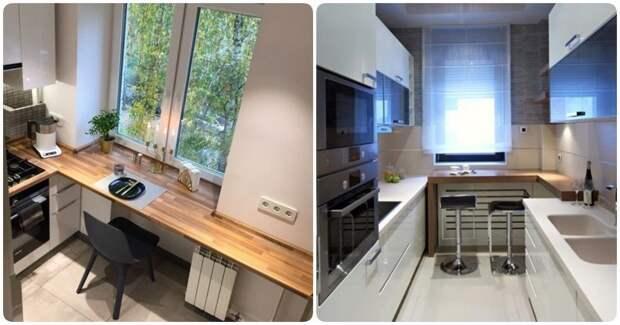 17 классных решений для 6 м², которые помогут грамотно обустроить малогабаритную кухню дизайн, идеи дизайна, интерьер, кухня, маленькая кухня