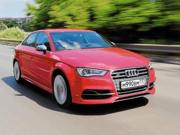 Audi S3 Sedan: «бочка» с порохом