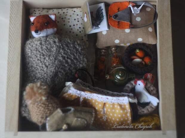 Вышитые аксессуары от Людмилы Чигрик