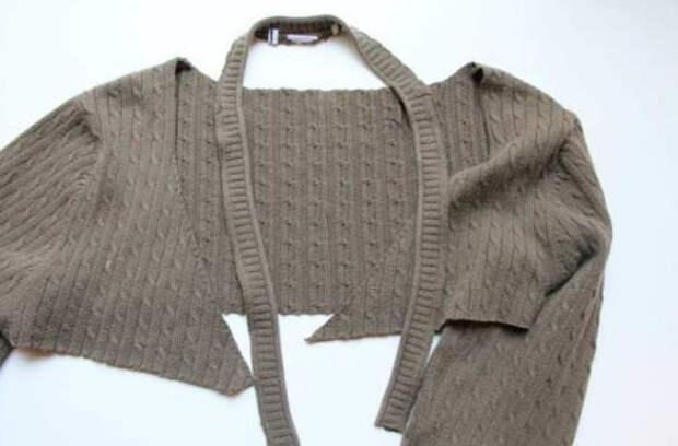 Старый свитер в мусорное ведро?! Сначала посмотрите это…