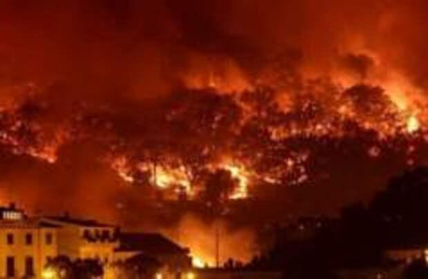 В Португалии начались пожары