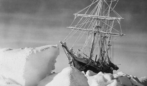 Эндьюренс. Корабль будет раздавлен льдами