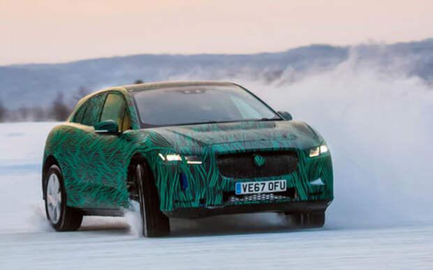 Новый кроссовер Jaguar I-Pace — первый (северный!) тест-драйв